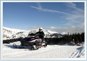 Frisco & Copper Mountain Snowmobiling