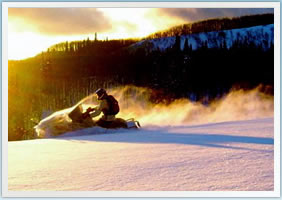 Frisco & Copper Mountain Snowmobile Rentals